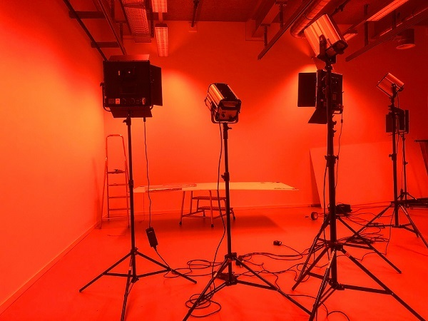 youtube studio setup