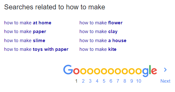 Google Search Related