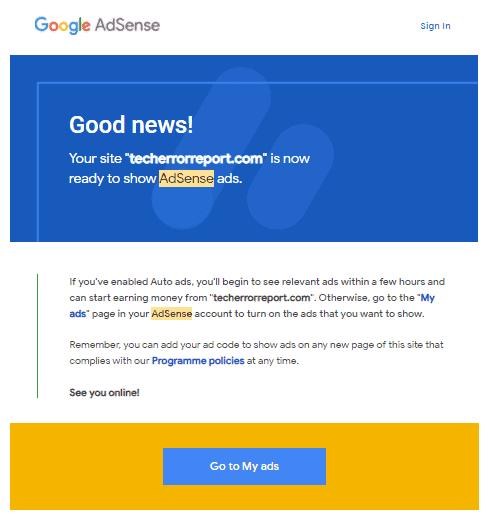 Adsense Approved Website
